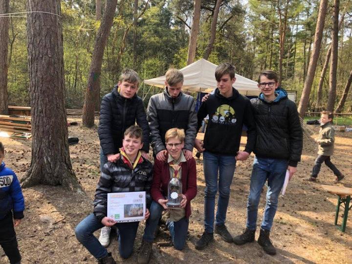 Resultaat van de Regionale Scouting Wedstrijd